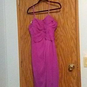 Magenta Adrianna Papell Formal Dress